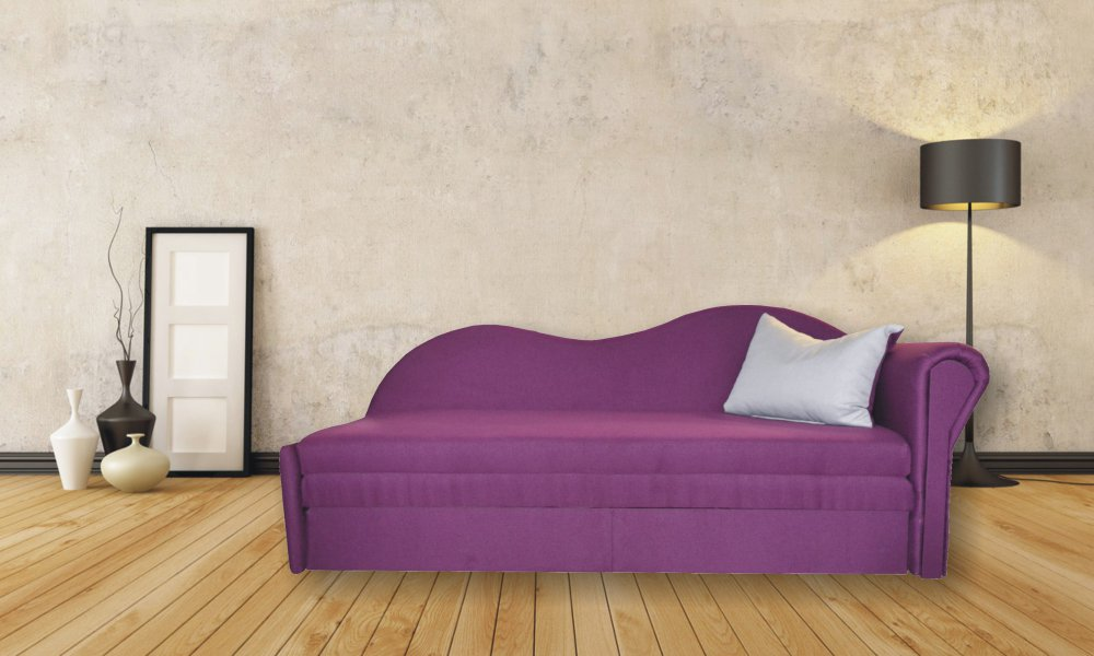 Pohovka Vendula pravá fialová - FALCO