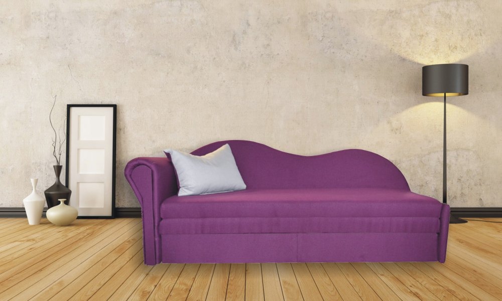 Pohovka Vendula levá fialová - FALCO
