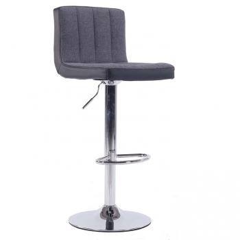 Barová židle HILDA šedá - TempoKondela