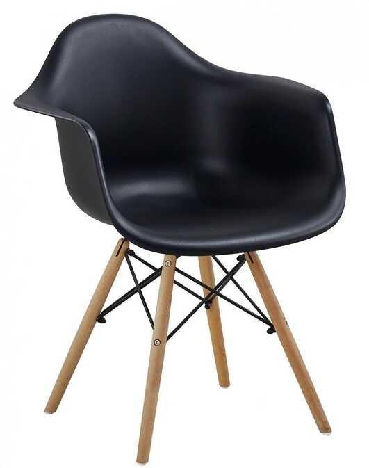 Jídelní židle Indiana černá - FALCO