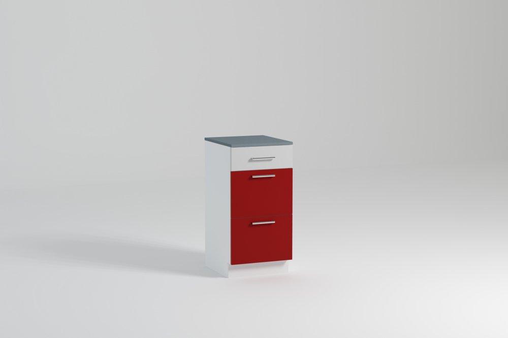 Kuchyňská skříňka Atractive SZ40 3SZ - FALCO