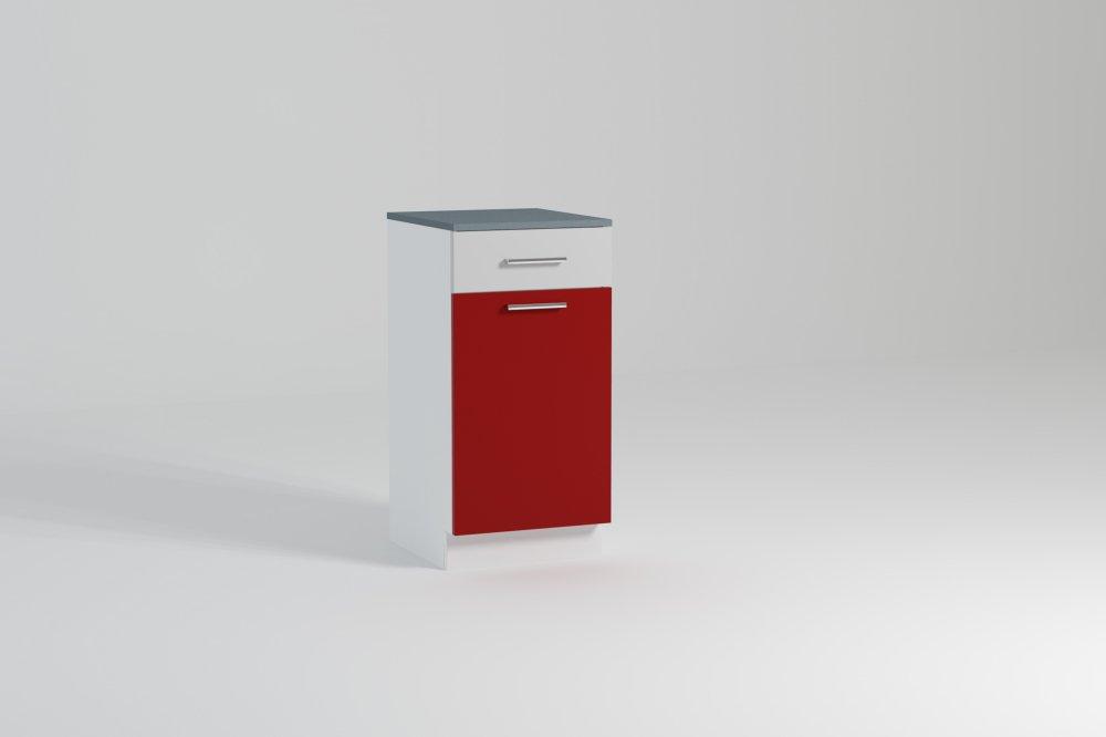 Kuchyňská skříňka Atractive D40 1D1SZ - FALCO