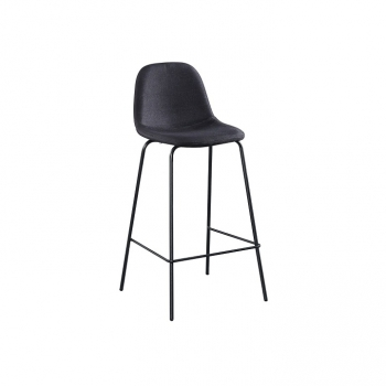 Barová židle MARIOLA NEW tmavě šedá - TempoKondela