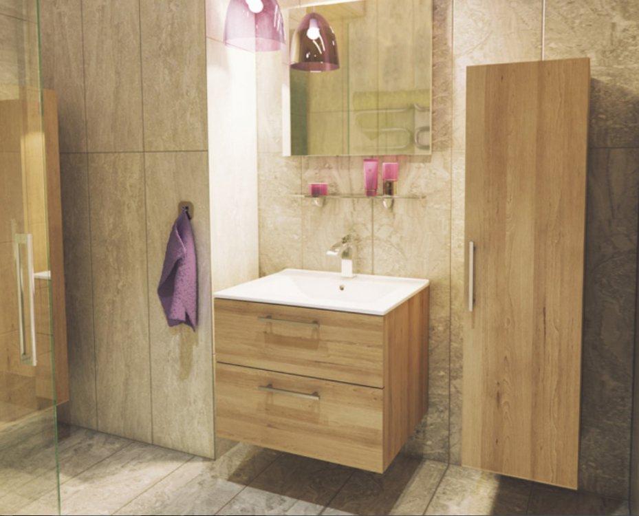 Koupelnová sestava Metropol buk trufla - FALCO
