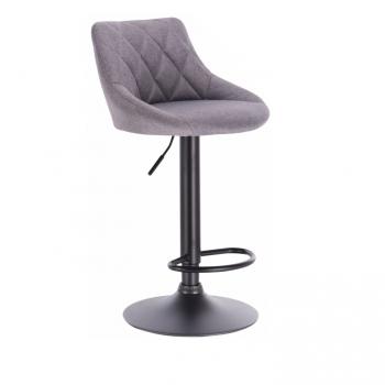 Barová židle TERKAN šedá - TempoKondela