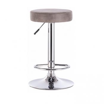 Barová židle GALVIN šedo hnědá - TempoKondela