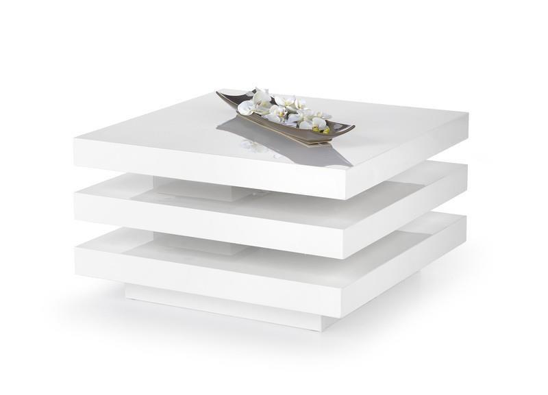 Konferenční stolek Ingrid bílý - HALMAR