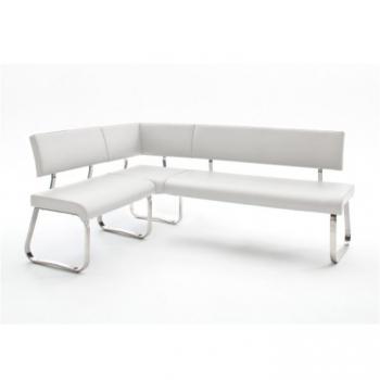 Rohová lavice Vesata typ 1 bílá levá - TempoKondela TempoKondela
