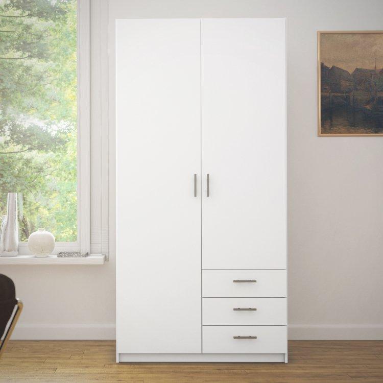 Bílá šatní skříň 68060 - TVI