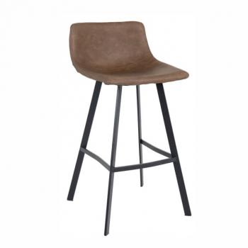 Barová židle FALUN tmavě hnědá - TempoKondela
