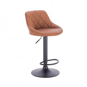 Barová židle TERKAN koňaková - TempoKondela