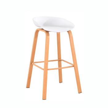 Barová židle BRAGA bílá - TempoKondela