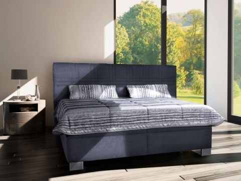 Čalouněná postel Venus 160x200 šedá - BLANAŘ