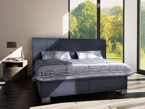 Čalouněná postel Venus 180x200 Baleri šedá - BLANAŘ