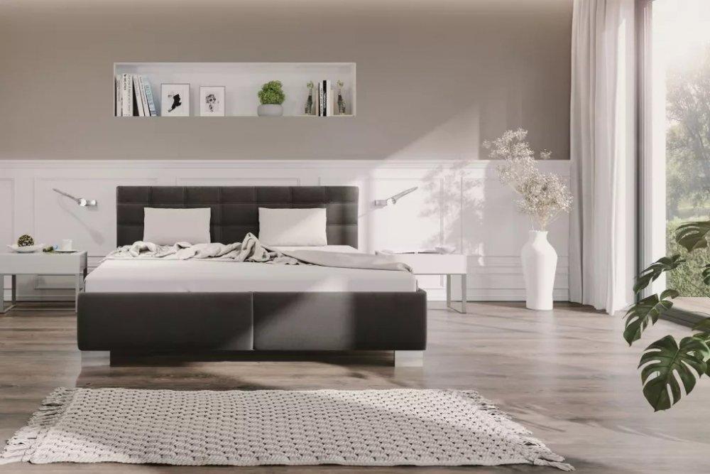 Čalouněná postel Olivia 180x200 Salina 4005 - BLANAŘ