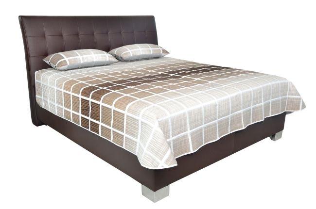 Čalouněná postel Naty 180x200 Loft Brown - BLANAŘ
