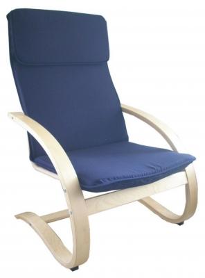Relaxační křeslo houpací Aly R03 tmavě modrá - FALCO