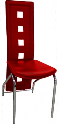 Jídelní židle H-66 vínová - FALCO