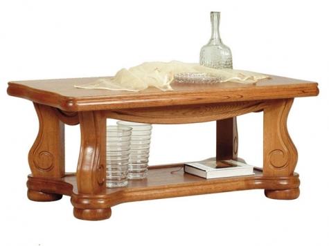 Konferenční stolek Velký 137x70 masiv - PYKA