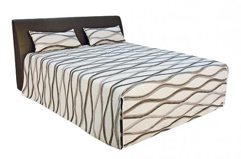 Čalouněná postel Discovery 180x200 hnědá - BLANAŘ