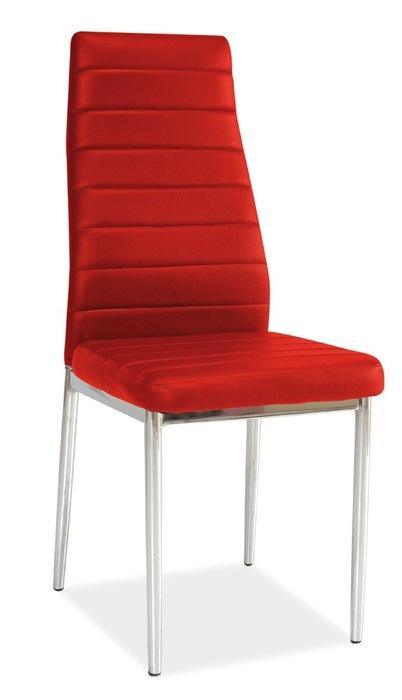 Jídelní židle H-261 červená - FALCO