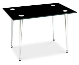 Jídelní stůl Vetro černý - FALCO