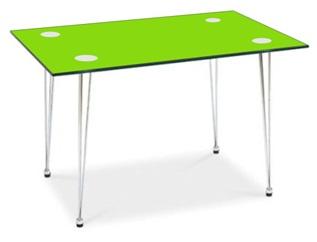 Jídelní stůl Vetro zelený - FALCO