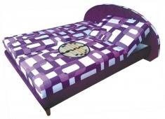 Čalouněná postel Monaco 180x200-matrace Nelly plus/hnědá - BLANAŘ