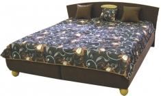 Čalouněná postel Monaco 180x200-matrace Nelly plus/bílá - BLANAŘ