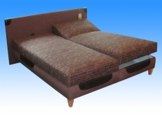 Čalouněná postel Solution 180x200 - BLANAŘ