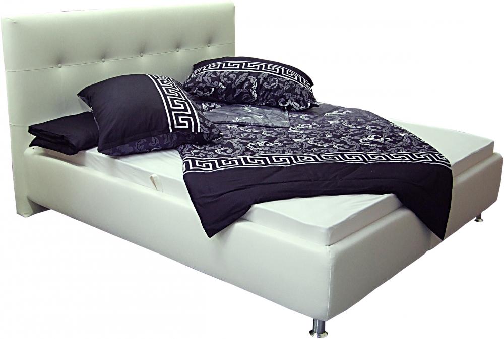 Čalouněná postel Oregon 180x200 fialová - BLANAŘ