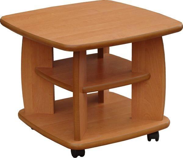 Konferenční stolek K 501 KOL 60x60 - ARTEN