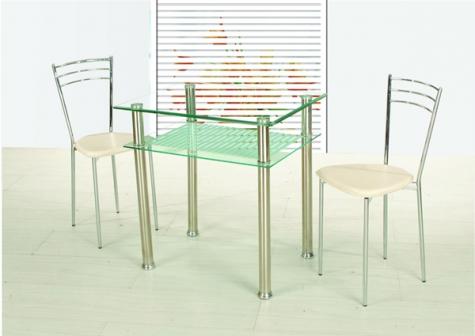 Jídelní stůl B66 60x80 čirá - FALCO