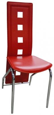 Jídelní židle H-66 červená - FALCO