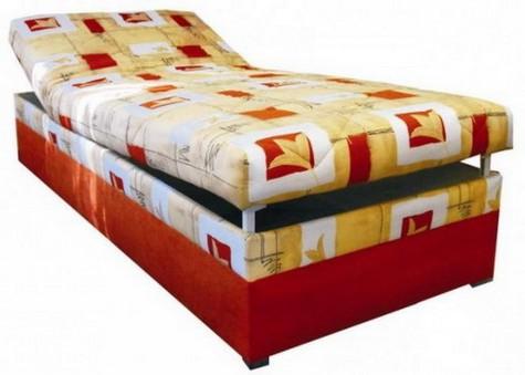 Čalouněná postel Centrum 90x200 polohovací 1 - BLANAŘ