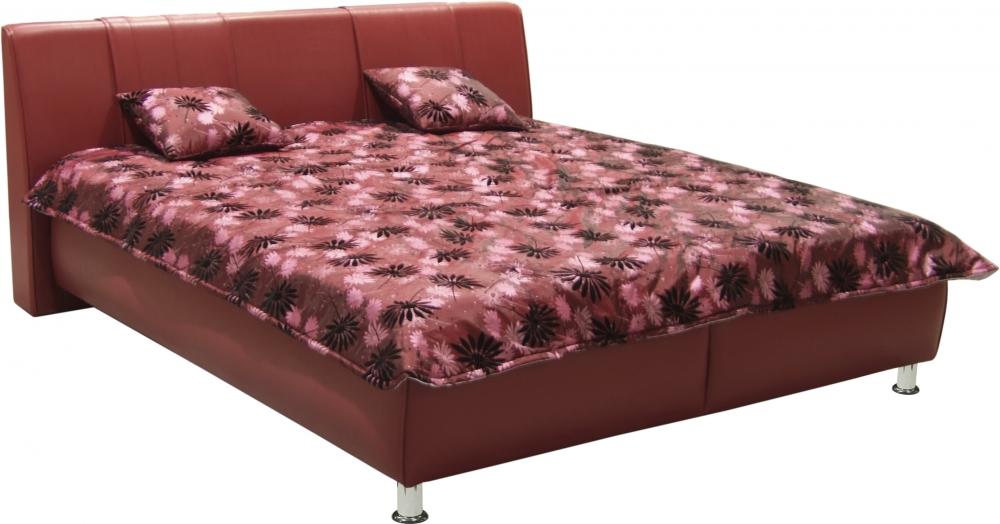 Čalouněná postel Karolína 180x200-PUR/Tamara 9 - BLANAŘ
