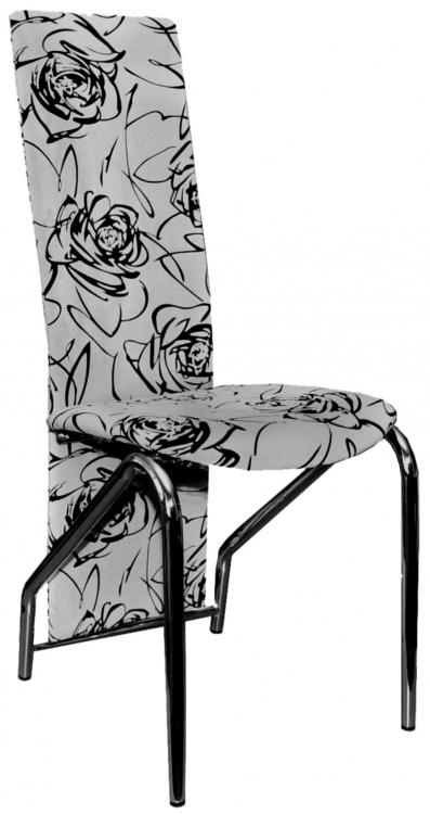 Jídelní židle H-66 šedý květ - FALCO