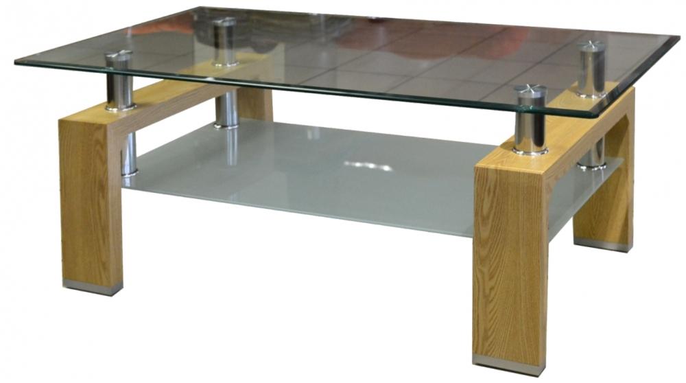Konferenční stolek Diana Lisa dub - FALCO
