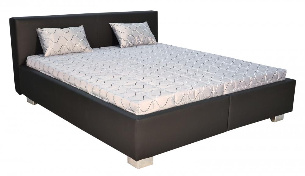 Čalouněná postel Cube-180x200 matrace Ivana - BLANAŘ
