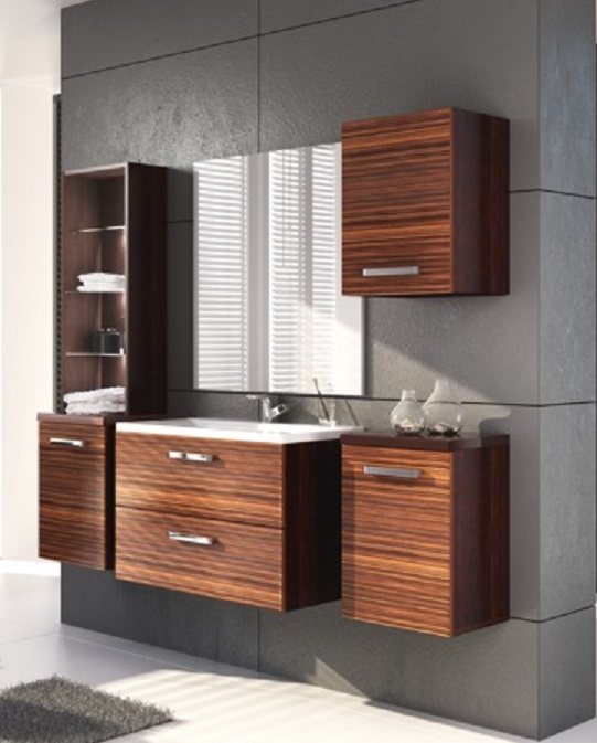 Koupelnová sestava Zumba zebrano - STOLKAR
