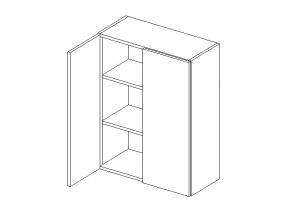 Koupelnová skříňka Milena W60 - STOLKAR