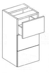 Koral spodní skříňka D30 S/3 - STOLKAR